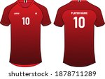sports t shirt jersey design... | Shutterstock .eps vector #1878711289