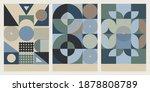 geometric circle vector for...   Shutterstock .eps vector #1878808789