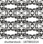 classic seamless pattern | Shutterstock .eps vector #187881014