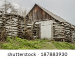 photo of the old rural house | Shutterstock . vector #187883930