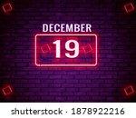 19 December Calendar Month....