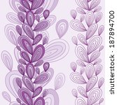 exotic floral seamless pattern  ... | Shutterstock .eps vector #187894700