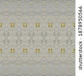 Gray Tribal Print. Yellow Geo...