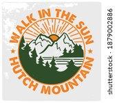 mountain illustration  outdoor... | Shutterstock .eps vector #1879002886