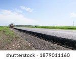 New Asphalt Road Surface On The ...