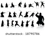 fighter collection | Shutterstock .eps vector #18790786