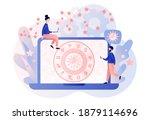 astrology science concept.... | Shutterstock .eps vector #1879114696