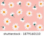 daisy pattern  for fashion... | Shutterstock .eps vector #1879160110