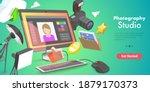 3d vector conceptual... | Shutterstock .eps vector #1879170373