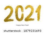 2021  happy new year 2021... | Shutterstock .eps vector #1879231693
