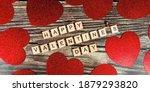Banner. Valentine's Day. Happy...