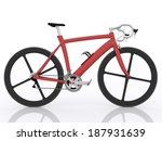 red bicycle | Shutterstock . vector #187931639