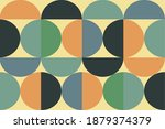 a semicircle group that forms...   Shutterstock .eps vector #1879374379
