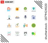 stock vector icon pack of 16...