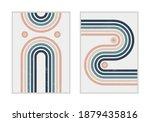 set of vector abstract...   Shutterstock .eps vector #1879435816