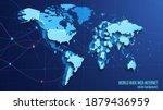 vector. contour image of planet ... | Shutterstock .eps vector #1879436959