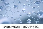 3d rendering of molecule or...   Shutterstock . vector #1879446553