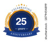 25 year anniversary celebration ... | Shutterstock .eps vector #1879454899