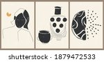 set of three abstract... | Shutterstock .eps vector #1879472533