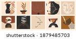 modern minimalist abstract... | Shutterstock .eps vector #1879485703