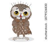 Emoticon Owl Stuck In Fear ...