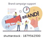 brand campaign concept. brand... | Shutterstock .eps vector #1879562500
