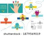 vector robotics as finger... | Shutterstock .eps vector #1879569019