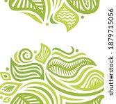 decorative nature background.... | Shutterstock .eps vector #1879715056