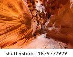 Beautiful landscape around Buckskin Gulch slot canyon at Utah