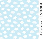 seamless repeat pattern swatch. ... | Shutterstock .eps vector #1879886053