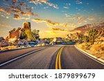 Highway In Joshua Tree National ...