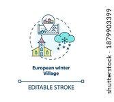 European Winter Village Concept ...