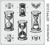 Memento Mori. Hourglass ...