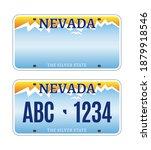 american nevada car license... | Shutterstock .eps vector #1879918546