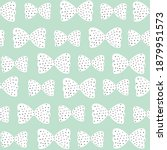 seamless pattern with pink bows ...   Shutterstock .eps vector #1879951573