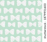 seamless pattern with pink bows ...   Shutterstock . vector #1879951603