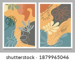 set of abstract backgrounds.... | Shutterstock .eps vector #1879965046