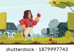 famous scientist newton... | Shutterstock .eps vector #1879997743