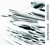 newspapers and magazines | Shutterstock . vector #188001533