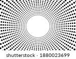 halftone black and white comic... | Shutterstock .eps vector #1880023699