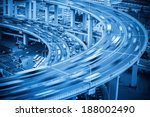vehicles motion blur on the... | Shutterstock . vector #188002490