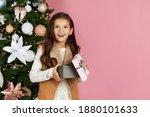 Cute Surprised Little Child...