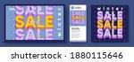 discounts and sale  online... | Shutterstock .eps vector #1880115646
