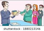 excellent work award. the...   Shutterstock .eps vector #1880213146