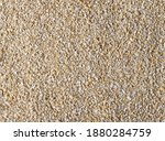 Oat Bran Pile Background And...