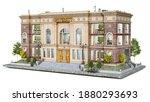 classical university building...   Shutterstock . vector #1880293693