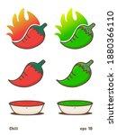 flat vector illustration of hot ...   Shutterstock .eps vector #1880366110