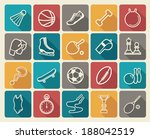sports icons | Shutterstock .eps vector #188042519