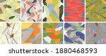 abstract vector seamless... | Shutterstock .eps vector #1880468593