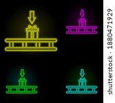 pallet send gift neon color set ...